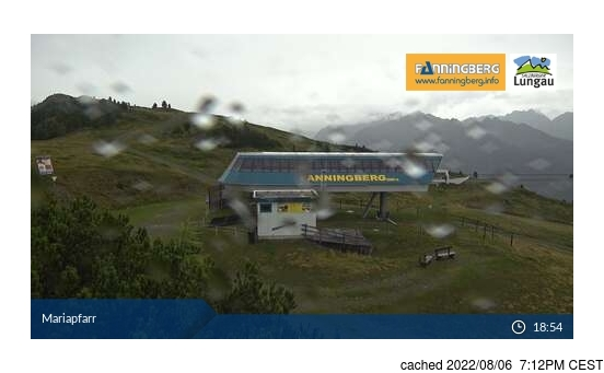 Live webcam per Fanningberg se disponibile
