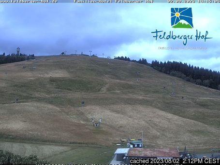 Feldberg webcam às 14h de ontem