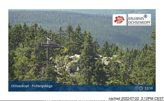 Webcam de Fichtelberg a las doce hoy