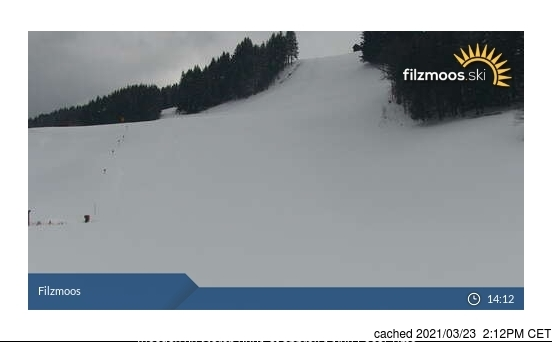 Filzmoos webcam at 2pm yesterday