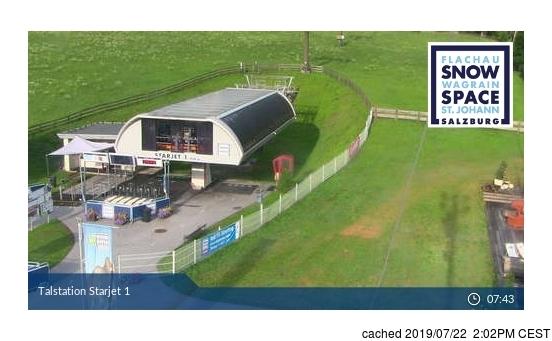Webcam de Flachauwinkl-Kleinarl à 14h hier