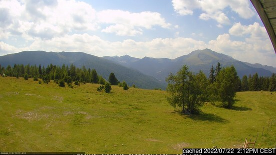 Flattnitz webcam at 2pm yesterday