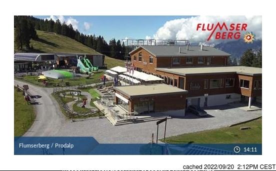 Webcam de Flumserberg a las 2 de la tarde ayer