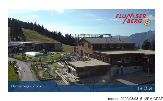 Live webcam per Flumserberg se disponibile