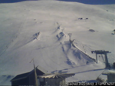 Fox Peak webcam at 2pm yesterday