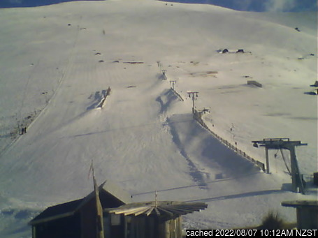 Live Snow webcam for Fox Peak
