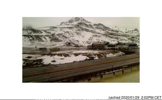 Fuentes de Invierno Webcam gestern um 14.00Uhr