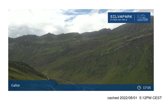 Live webcam per Galtur-Silvapark se disponibile