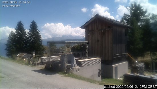 Jeizinen webcam at lunchtime today