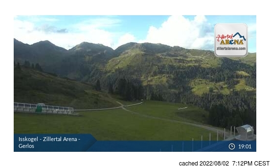 Live webcam per Gerlos se disponibile