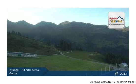 Live Webcam für Gerlos