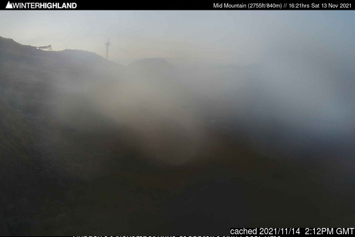 Glencoe Mountain Resort webcam at lunchtime today