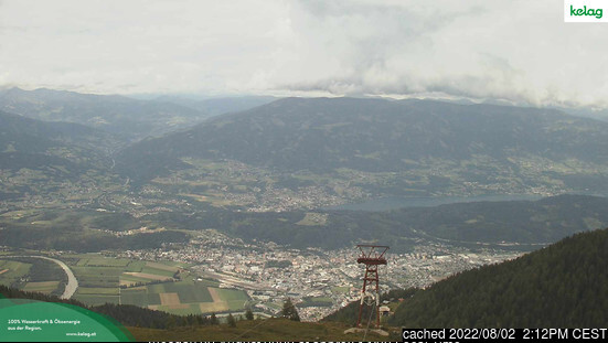 Goldeck webcam at 2pm yesterday