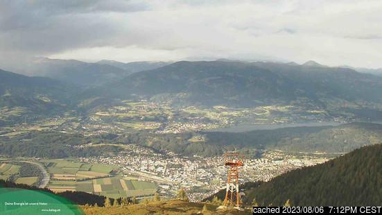 Goldeckの雪を表すウェブカメラのライブ映像