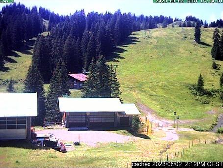 Webcam de Grasgehren/Bolgengrat a las doce hoy