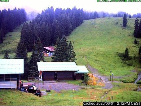 Grasgehren/Bolgengrat webcam at lunchtime today