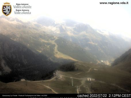 Webcam de Gressoney-la-Trinite à 14h hier