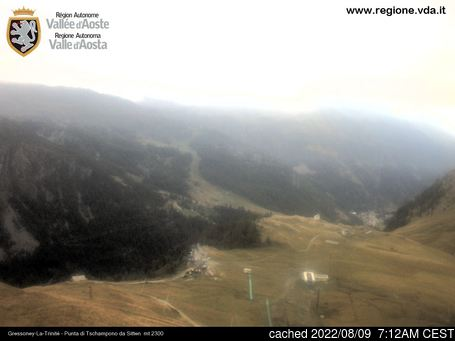Webcam en vivo para Gressoney-la-Trinite