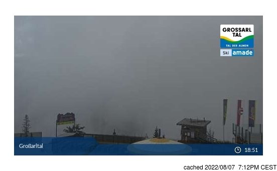 Live Snow webcam for Grossarl-Dorfgastein