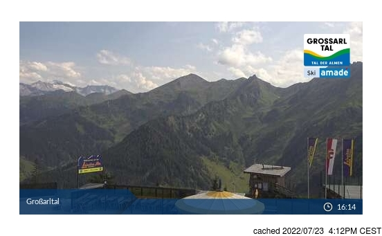 Live webcam per Grossarl-Dorfgastein se disponibile