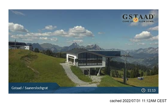 Live webcam per Gstaad se disponibile