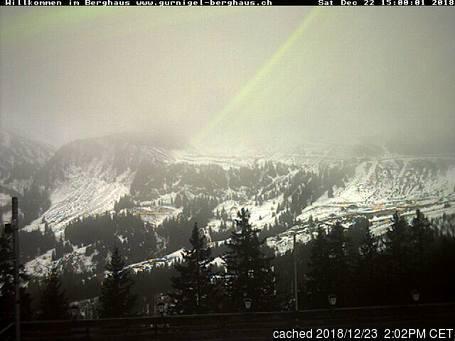 Gurnigel Webcam gestern um 14.00Uhr