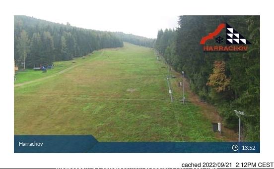 Harrachov webcam om 2uur s'middags vandaag