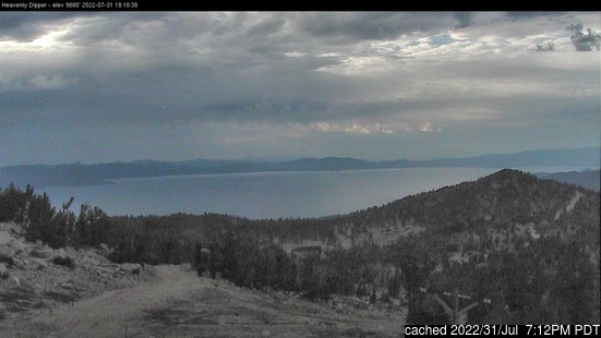 Live Snow webcam for Heavenly