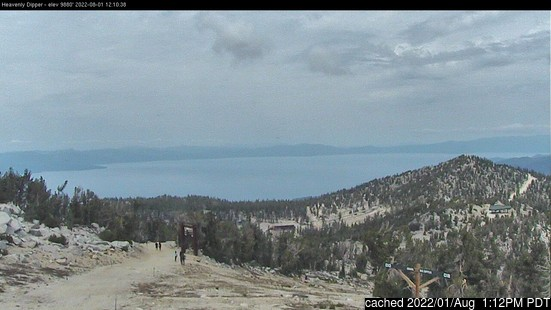 Live Sneeuw Webcam voor Heavenly