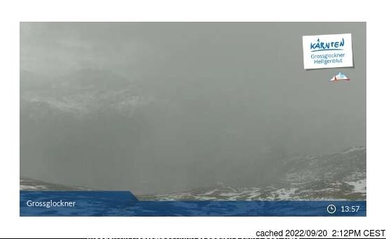 Webcam de Heiligenblut a las 2 de la tarde ayer
