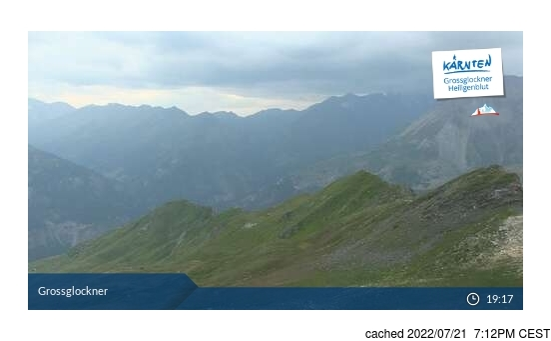 Live webcam para Heiligenblut se disponível