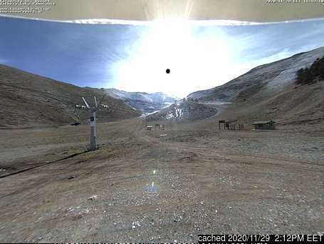 Kalavryta Ski Resort webcam at lunchtime today