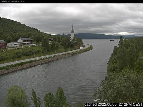 Hemavan and Tärnaby Webcam gestern um 14.00Uhr