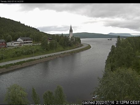 Webcam de Hemavan and Tärnaby a las 2 de la tarde ayer