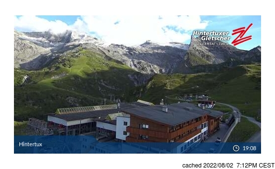 Live webcam per Hintertux se disponibile