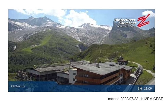 Webcam en vivo para Hintertux