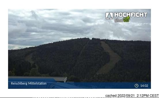 Hochficht-Schwarzenberg webcam all'ora di pranzo di oggi