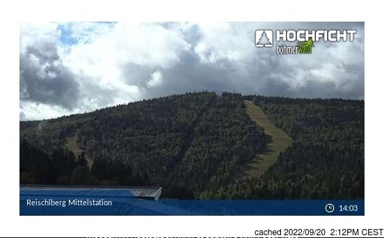 Webcam de Hochficht-Schwarzenberg a las 2 de la tarde ayer