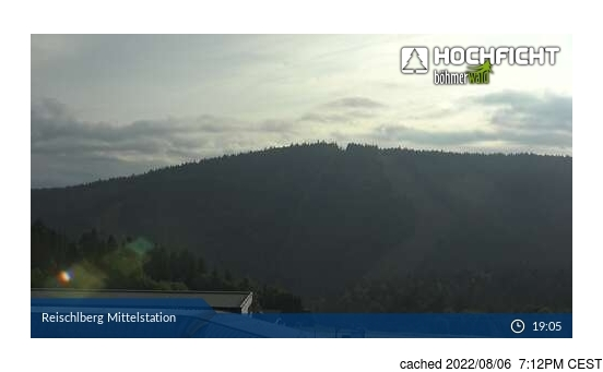 Live webcam per Hochficht-Schwarzenberg se disponibile