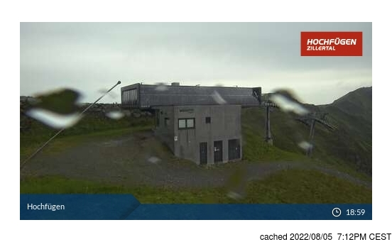 Live Snow webcam for Hochfügen