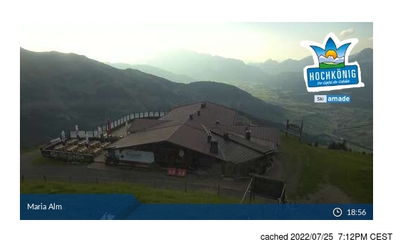 Live Snow webcam for Hochkönig