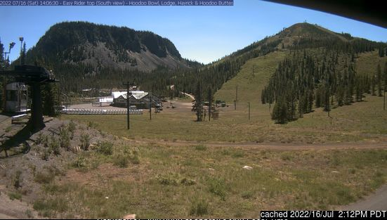 Hoodoo Ski Area webcam at 2pm yesterday
