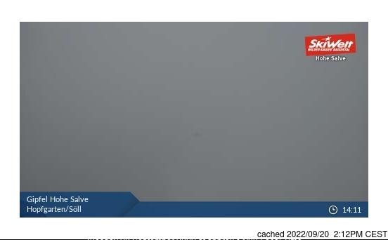 Hopfgarten Webcam gestern um 14.00Uhr
