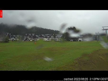 dün saat 14:00'te Horní Mísečky - Medvědín'deki webcam