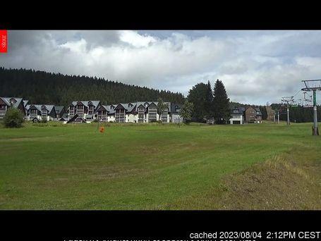Horní Mísečky - Medvědín webcam às 14h de ontem
