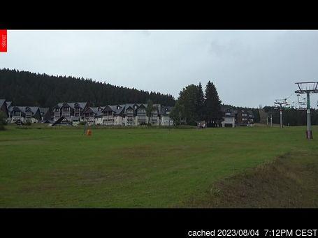 Live Snow webcam for Horní Mísečky - Medvědín