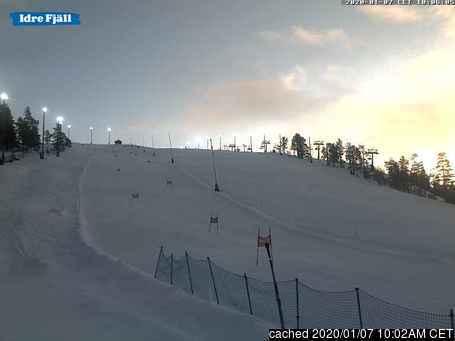Idre Fjäll Webcam gestern um 14.00Uhr