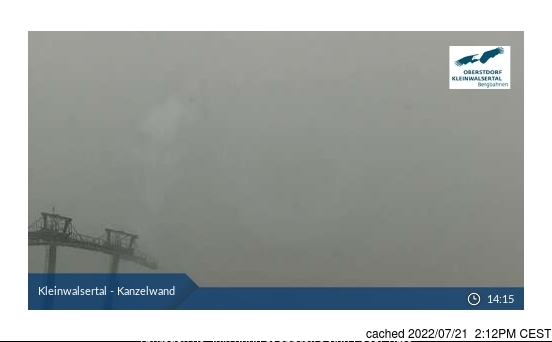 Ifen (Kleinwalsertal) webcam heute beim Mittagessen