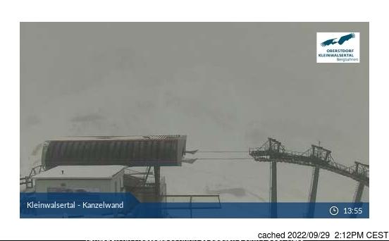 Webcam de Ifen (Kleinwalsertal) a las doce hoy