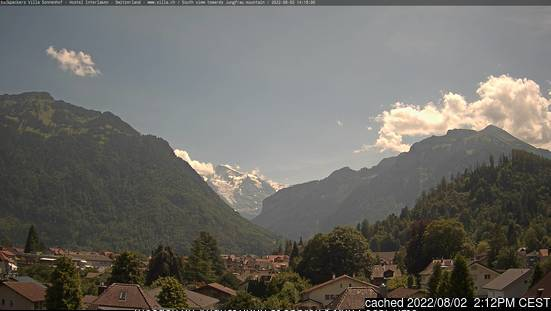 Interlaken Webcam gestern um 14.00Uhr